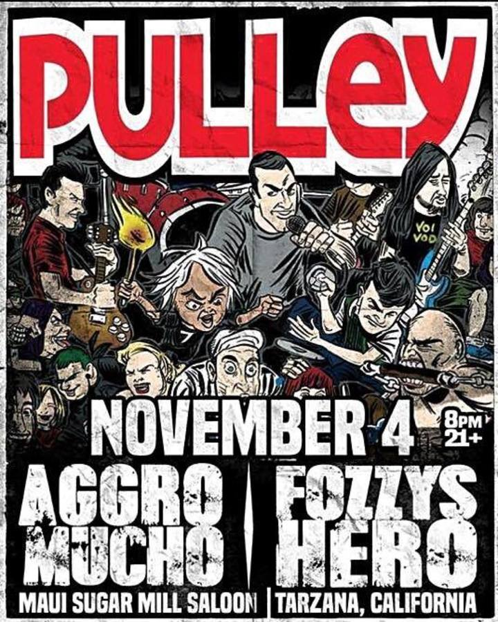 Pulley Tour Dates