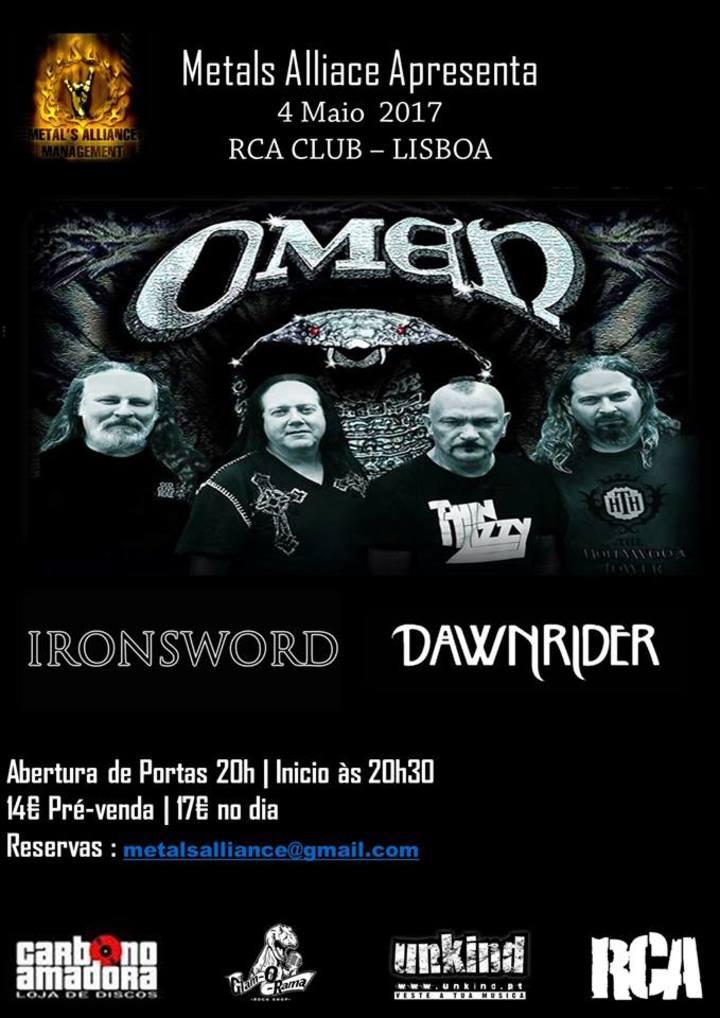 Ironsword @ Omen + Ironsword @ RCA Club - Lisboa, Portugal