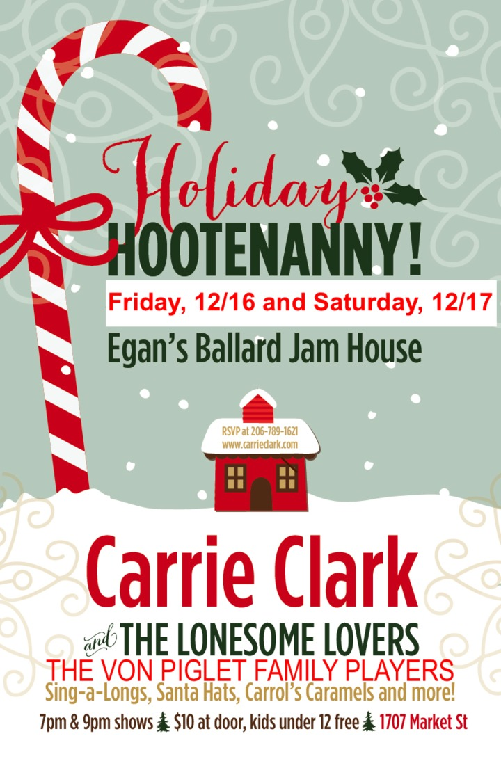 Carrie Clark @ Egan's Ballard Jam House - Seattle, WA