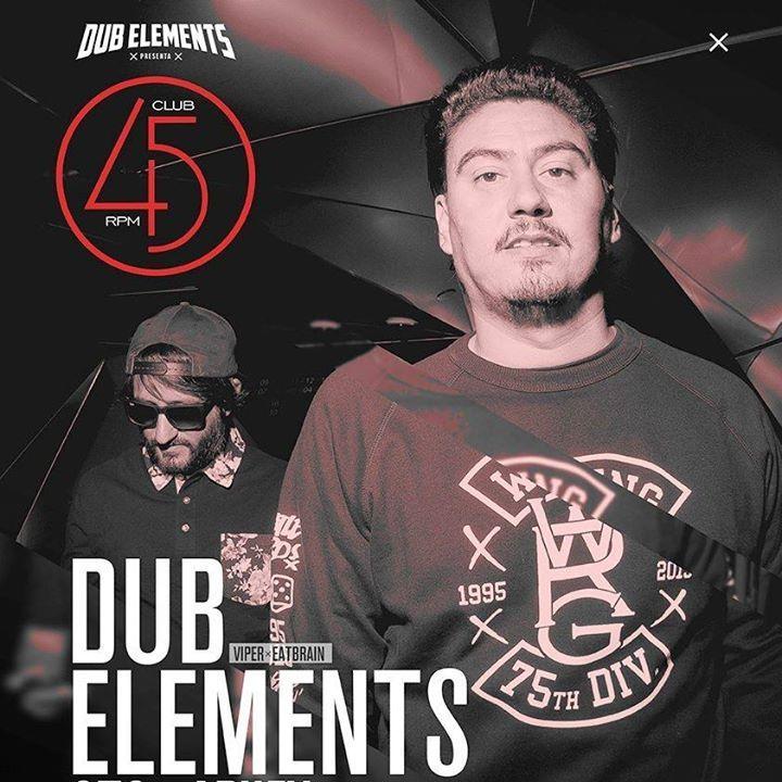 Dub Elements Tour Dates