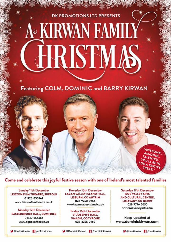 Dominic Kirwan @ Lagan Valley Island Hall - Lisburn, United Kingdom