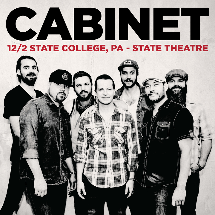 Cabinet @ The State Theatre - State College, PA