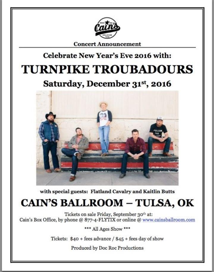 Kaitlin Butts @ CAINS BALLROOM - Tulsa, OK
