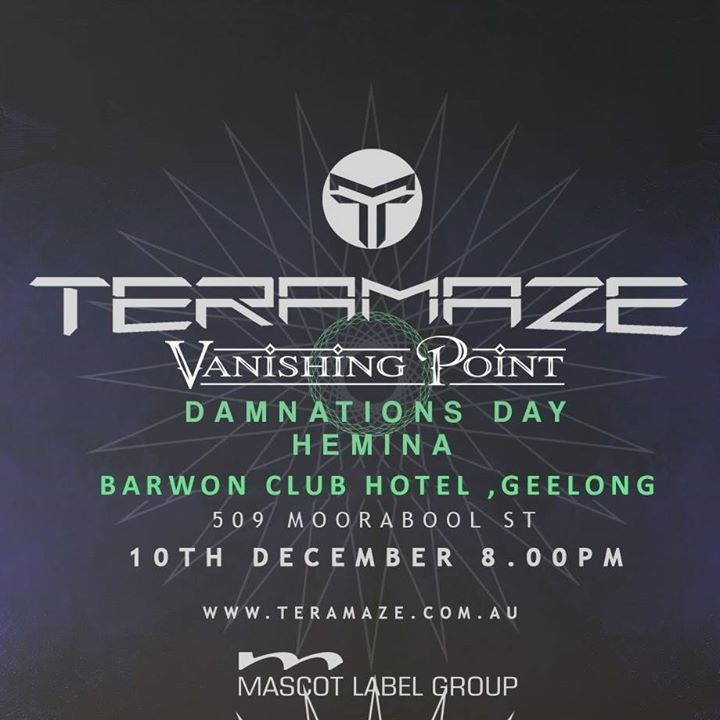 Teramaze Tour Dates