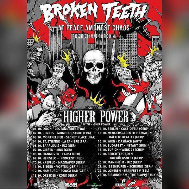 Broken Teeth! Tour Dates