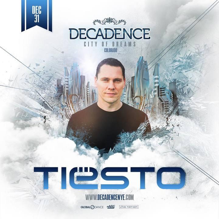 Tiëstolive @ Decadence - Denver, CO