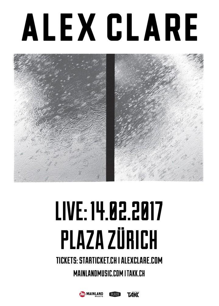 Alex Clare @ Plaza - Zurich, Switzerland