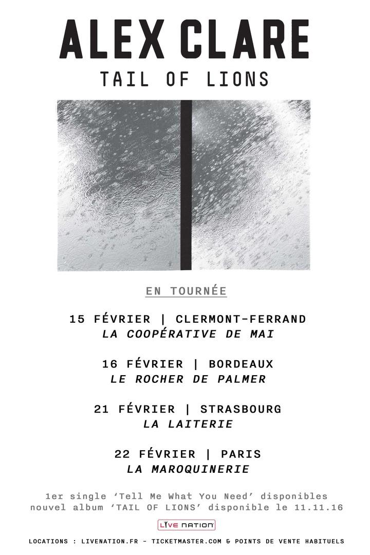 Alex Clare @ La Coopérative de Mai - Clermont-Ferrand, France