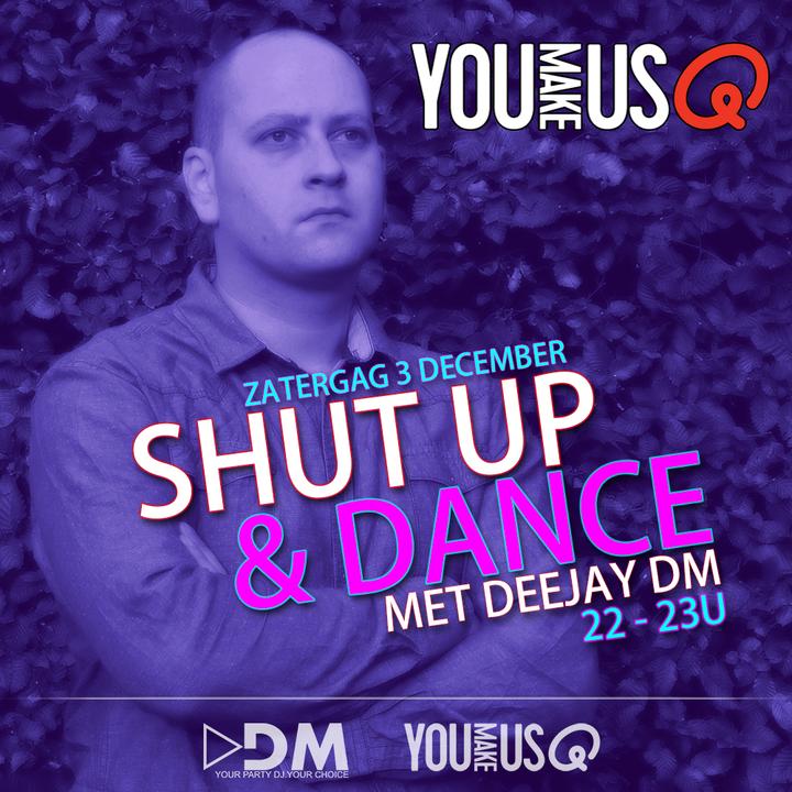 DJ DM @ Q Music - Vilvoorde, Belgium