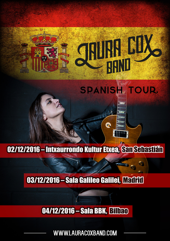 Laura Cox @ Sala Galileo Galilei - Madrid, Spain