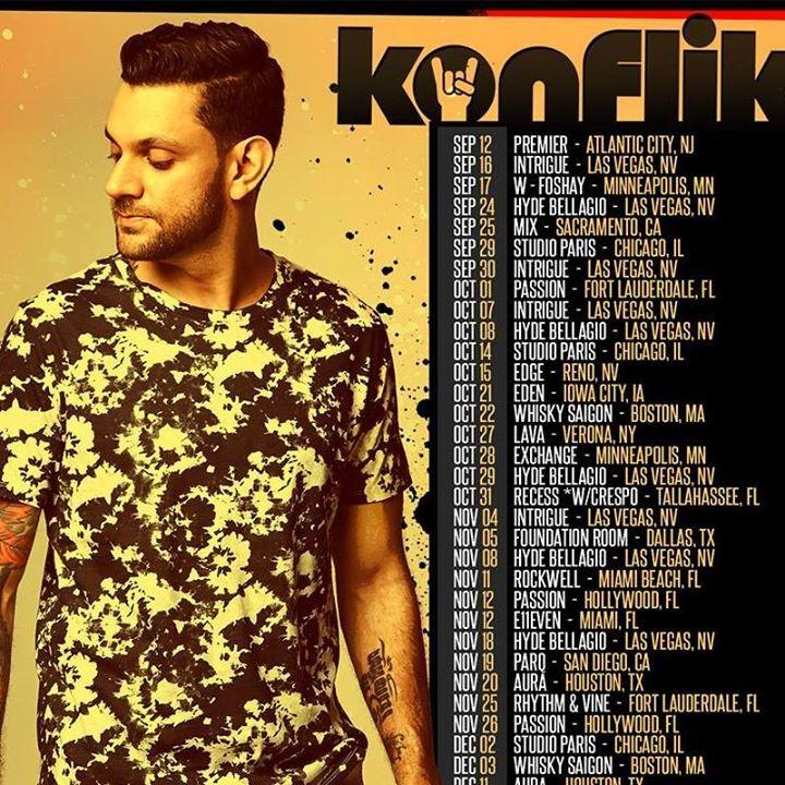 DJ Konflikt Tour Dates