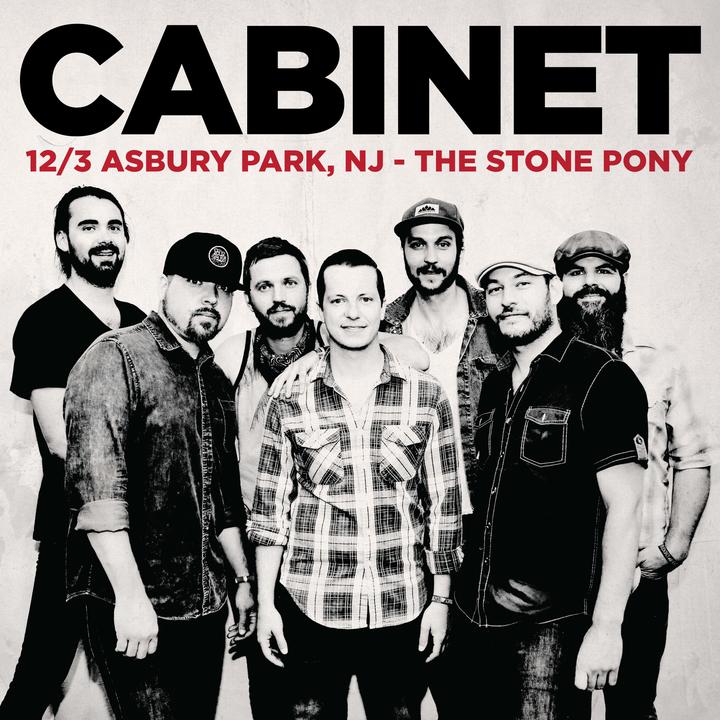 Cabinet @ The Stone Pony - Asbury Park, NJ