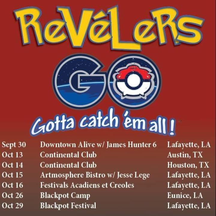 The Revelers Tour Dates