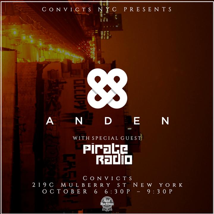 Pirate Radio NYC Tour Dates