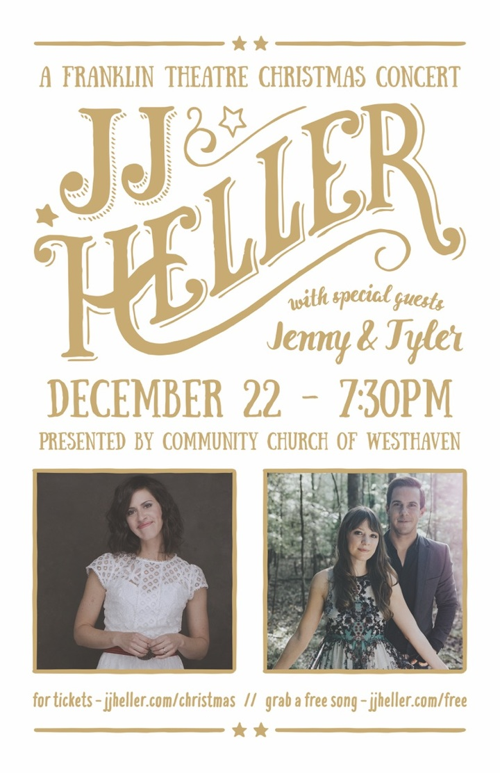 JJ Heller @ Franklin Theatre - Franklin, TN