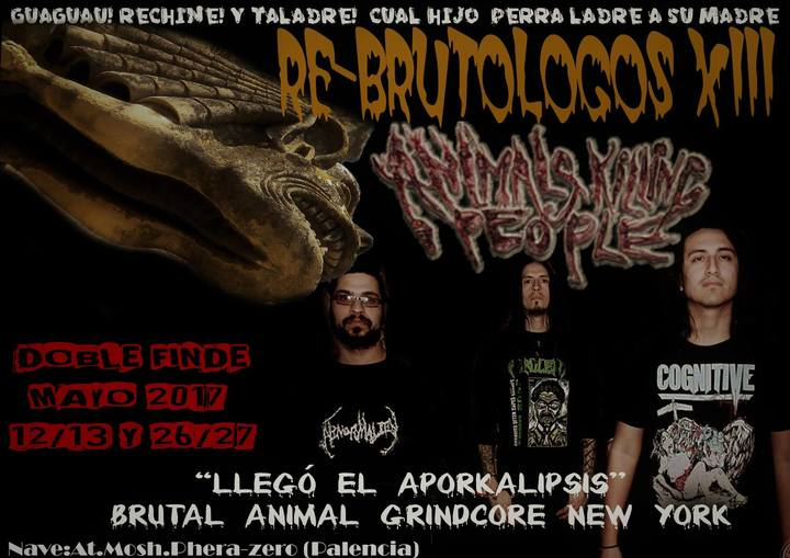 Animals Killing People @ TBA - Palencia, Spain
