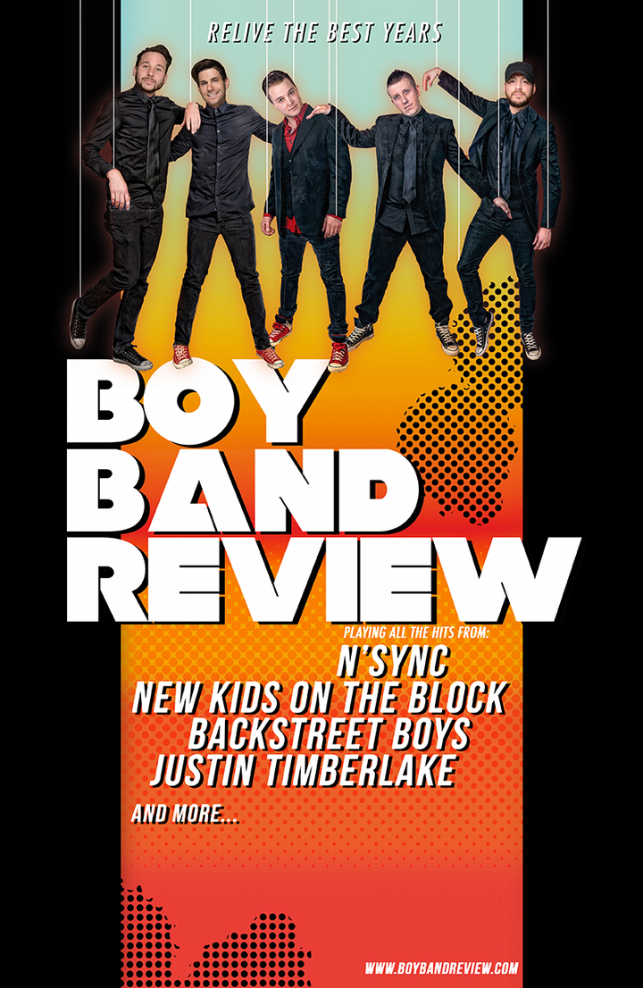 Boy Band Review Chicago @ The Riverside Theater - Milwaukee, WI