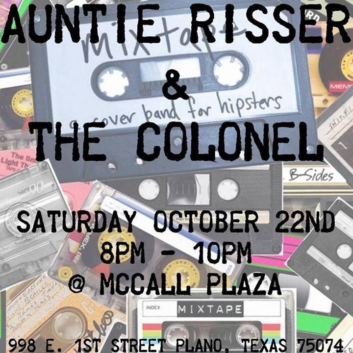 Auntie Risser & The Colonel Tour Dates