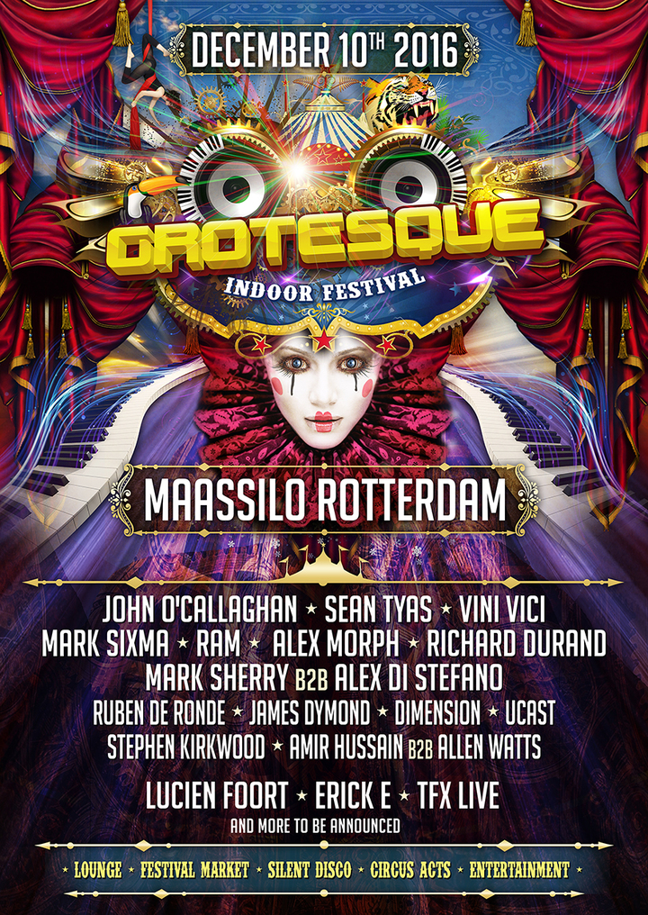 RAM Official @ Maassilo - Rotterdam, Netherlands