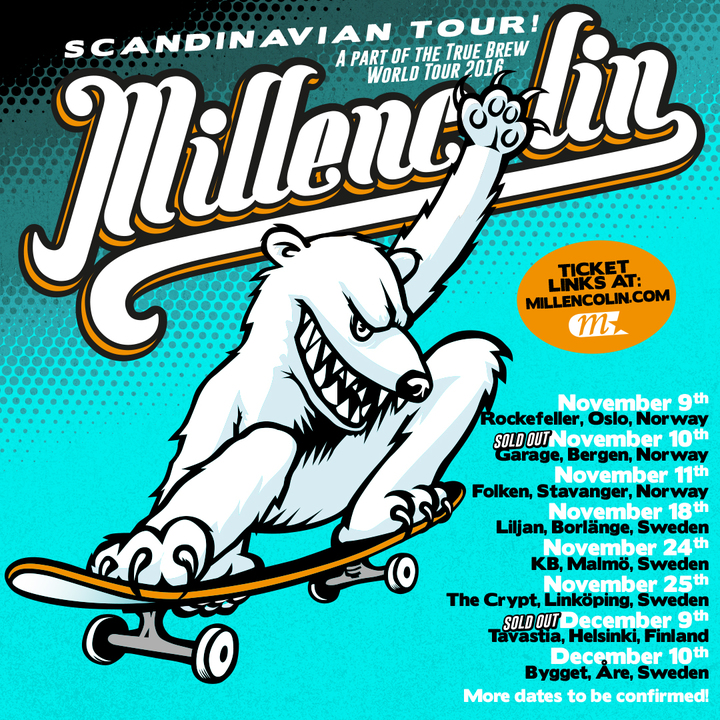Millencolin @ Bygget - Are, Sweden