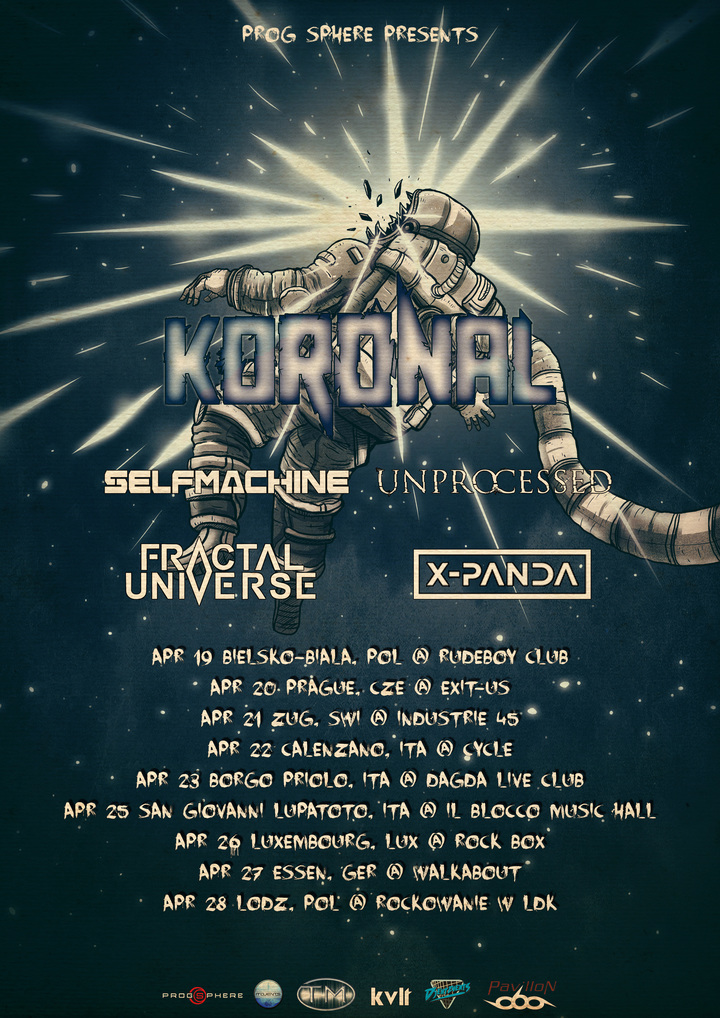 Koronal @ DAGDA LIVE CLUB - Borgo Priolo, Italy