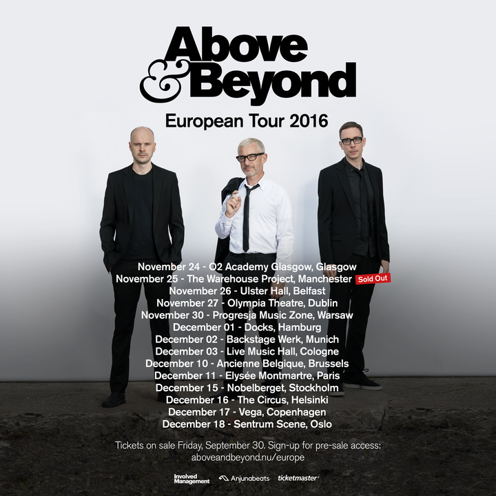 Above & Beyond @ Live Music Hall - Cologne, Germany