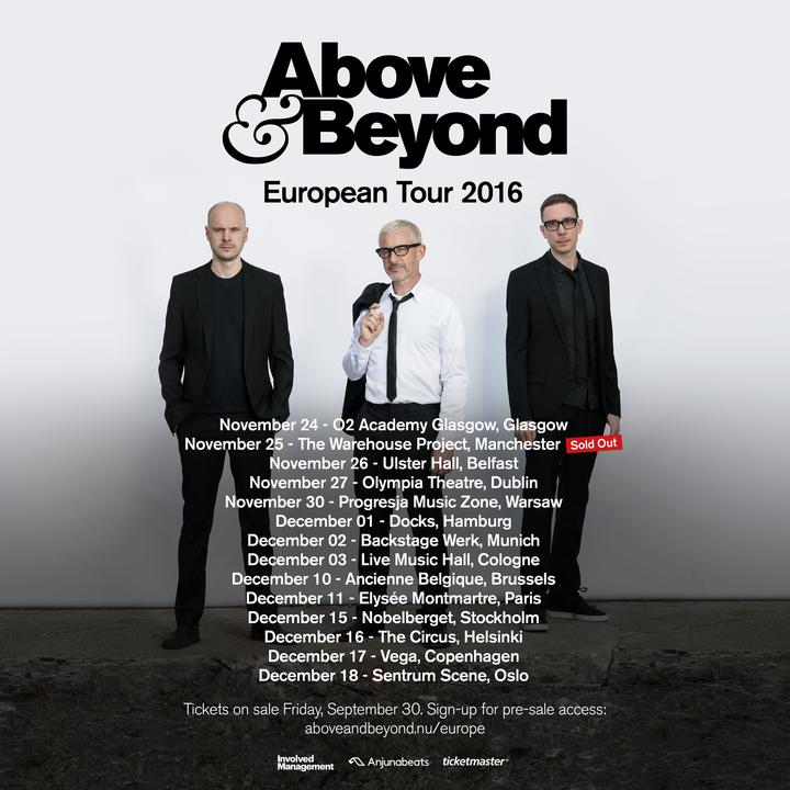 Above & Beyond @ Ancienne Belgique - Brussels, Belgium