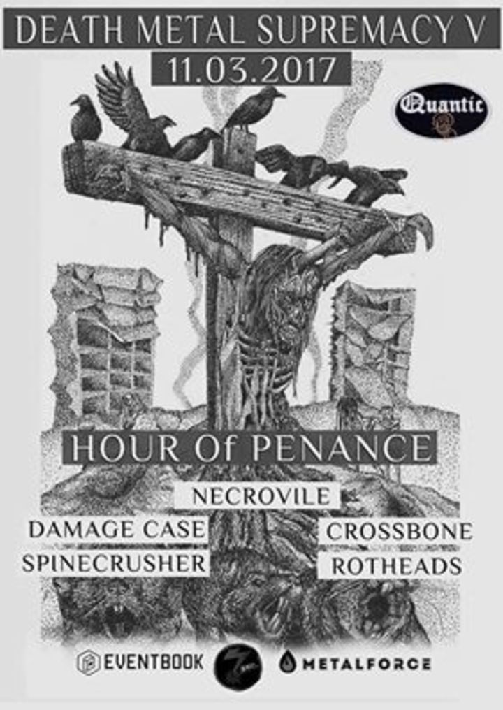 Hour of Penance @ Fabrica - Cluj-Napoca, Romania