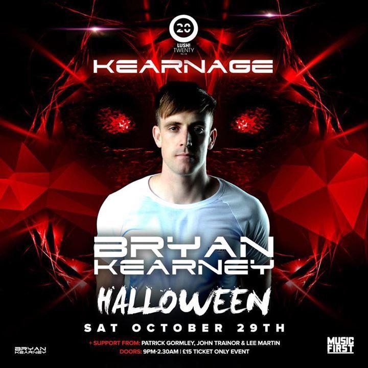 Bryan Kearney Tour Dates