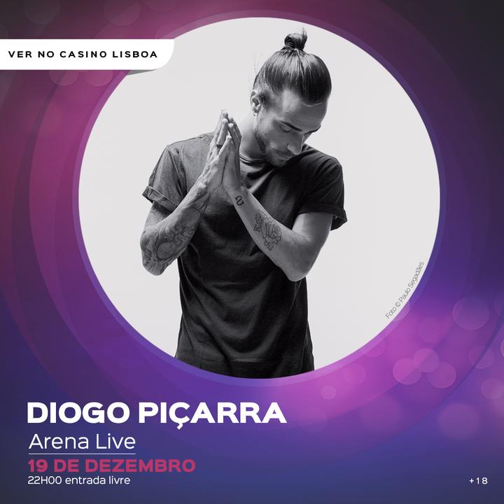 Diogo Piçarra @ Casino Lisboa - Lisbon, Portugal