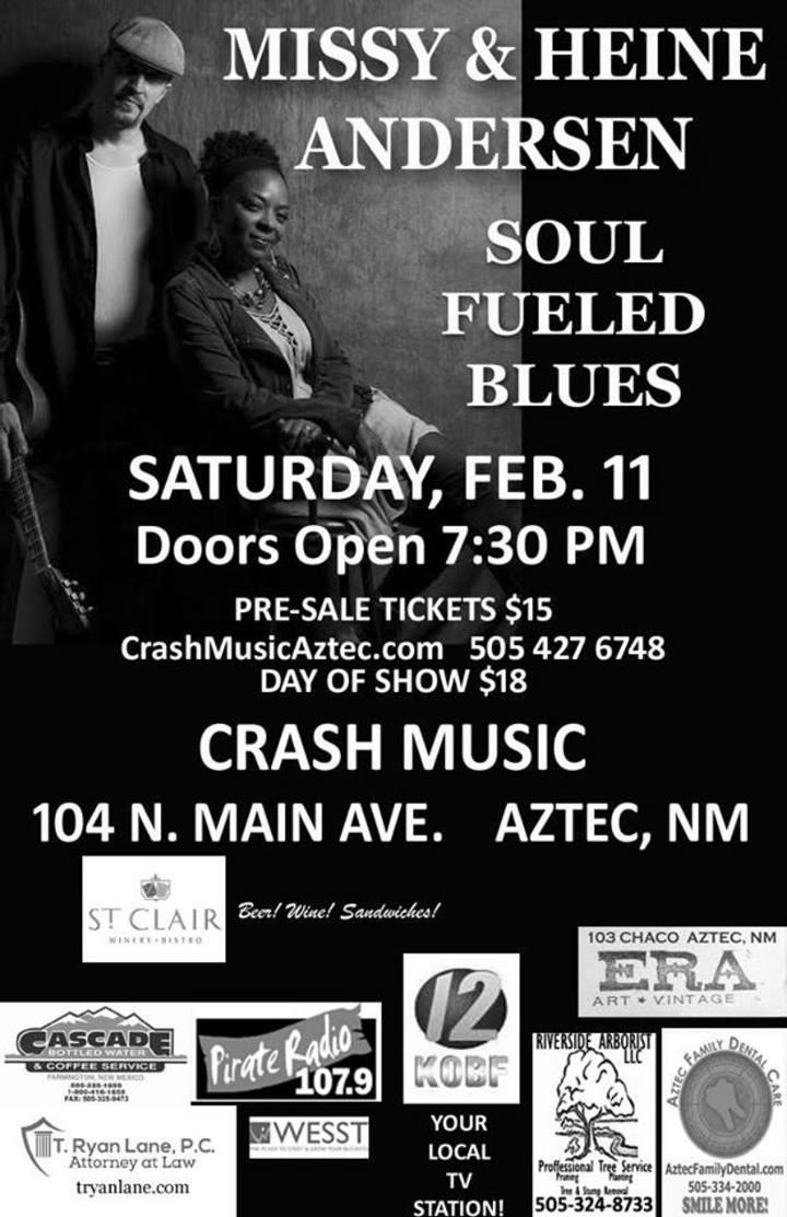 Missy Andersen @ Aztec Theater - Aztec, NM