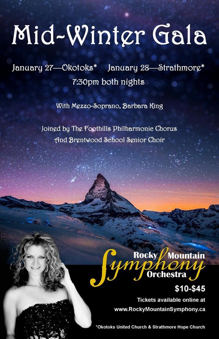Rocky Mountain Symphony Orchestra @ Okotoks United Church - Okotoks, Canada
