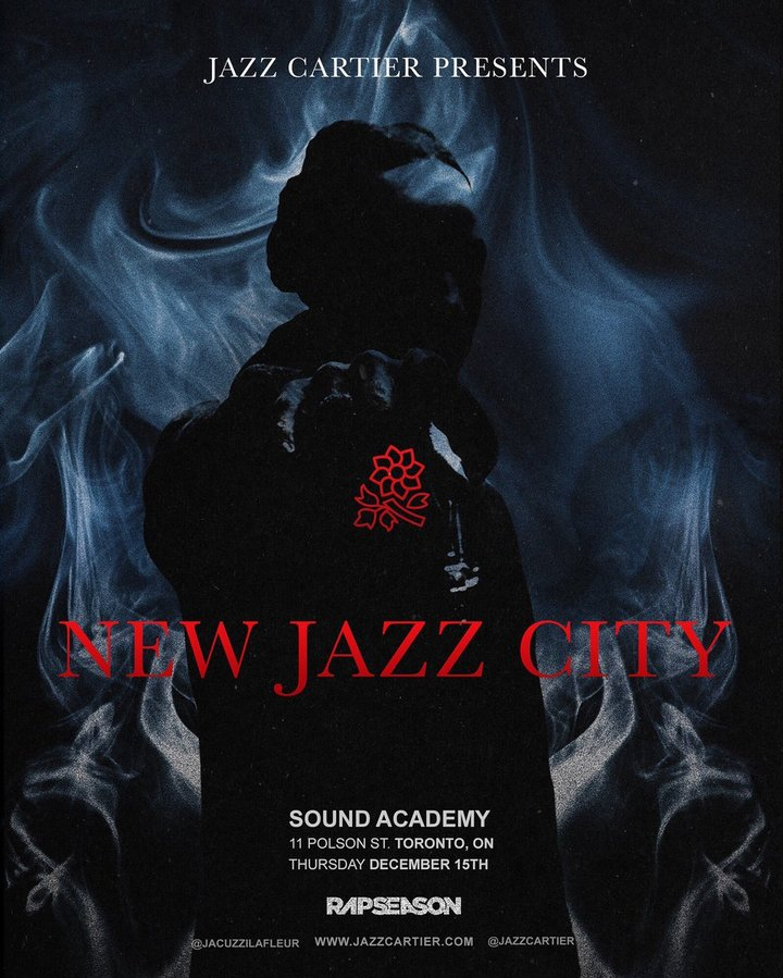 Jazz Cartier @ Rebel (Formally Sound Academy) - Toronto, Canada