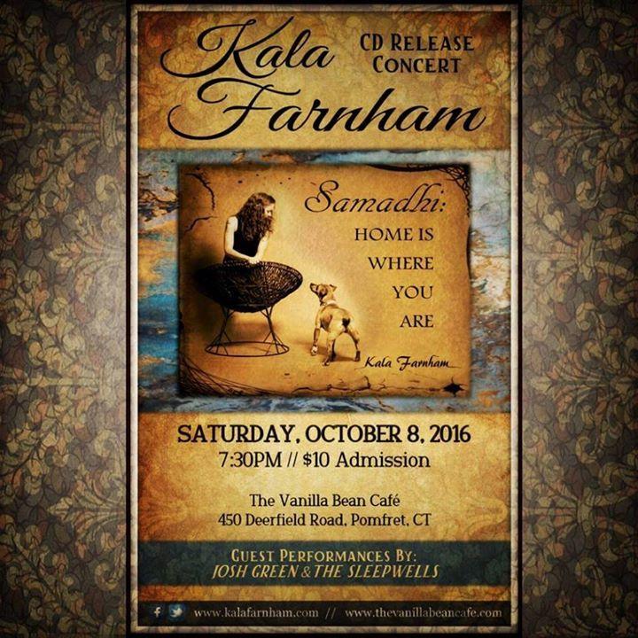 Kala Farnham Tour Dates