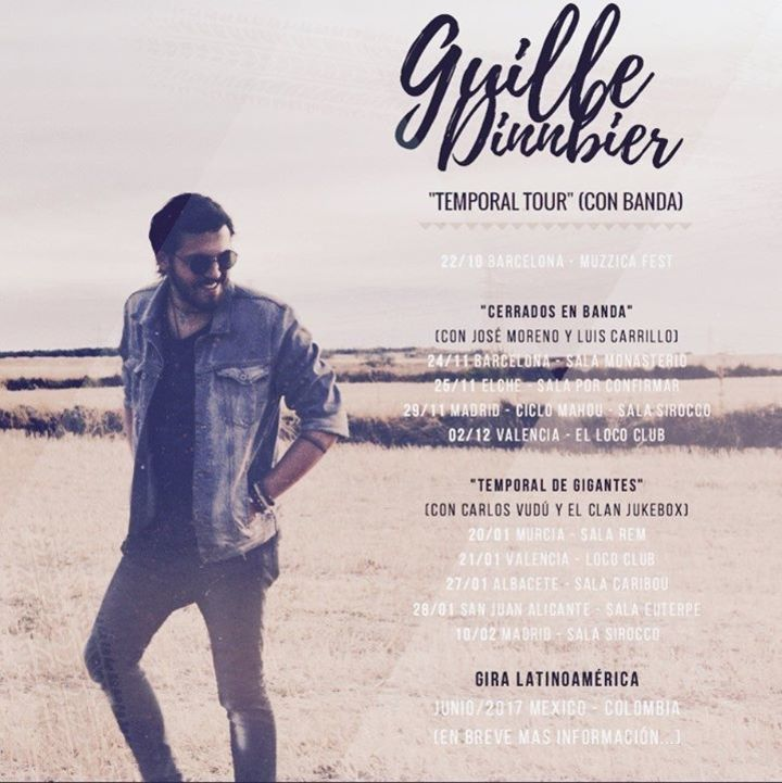 Guille Dinnbier @ SALA SIROCCO - Madrid, Spain