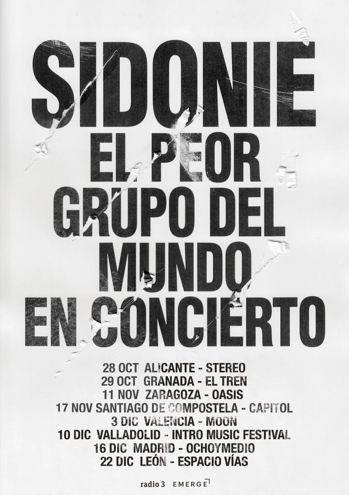 Sidonie @ Sala Moon - València, Spain
