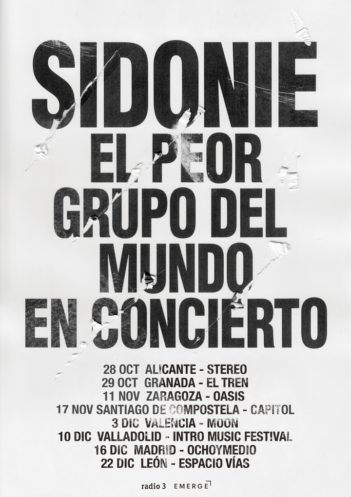 Sidonie @ Intro Music Festival - Valladolid, Spain