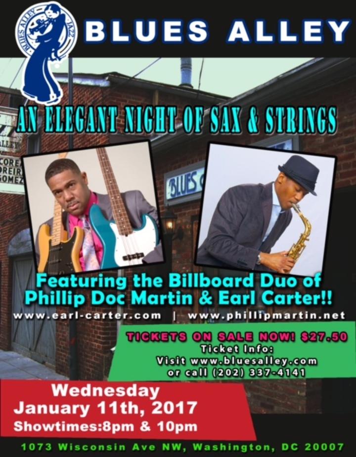 Phillip Doc Martin @ Blues Alley**** - Washington, DC