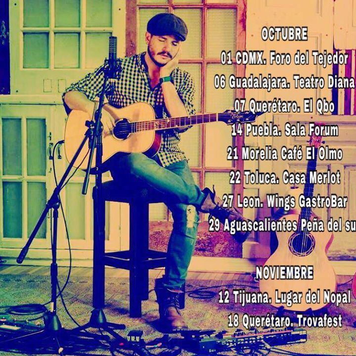 Miguel Inzunza Tour Dates