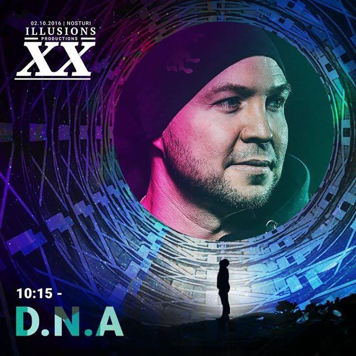 DJ D.N.A Tour Dates