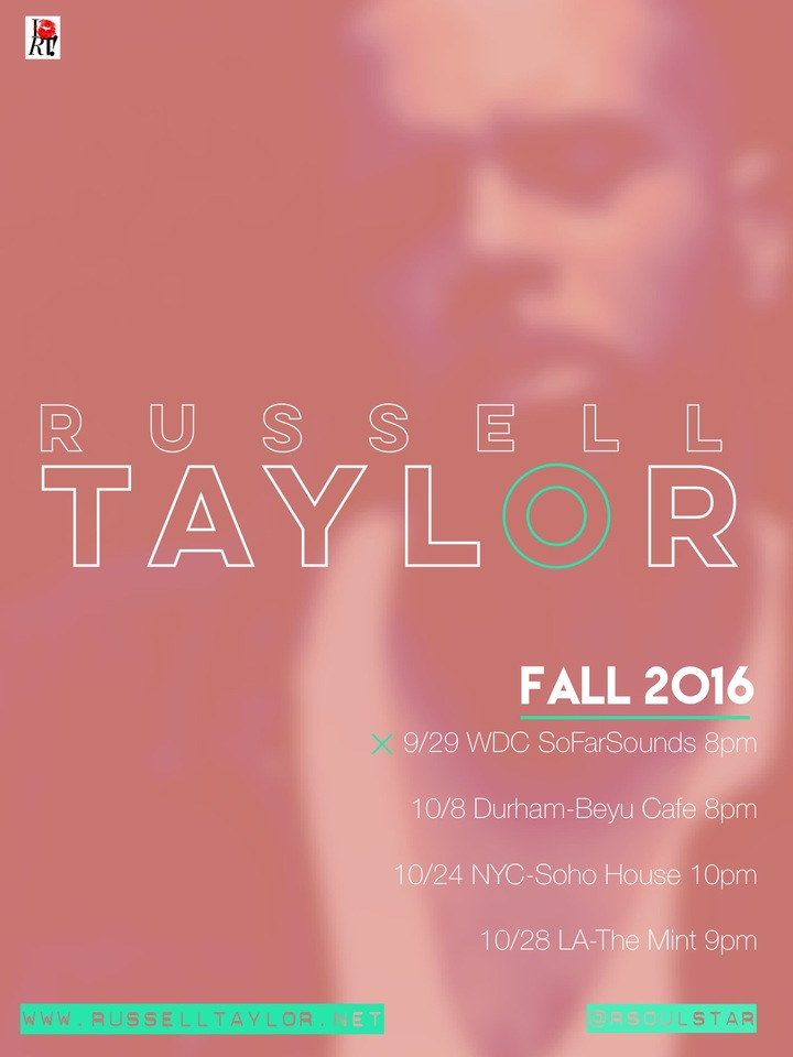 Russell Taylor Tour Dates