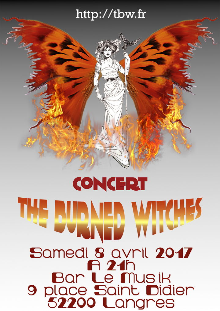 The Burned Witches @ Bar le Muz'Ik - Langres, France
