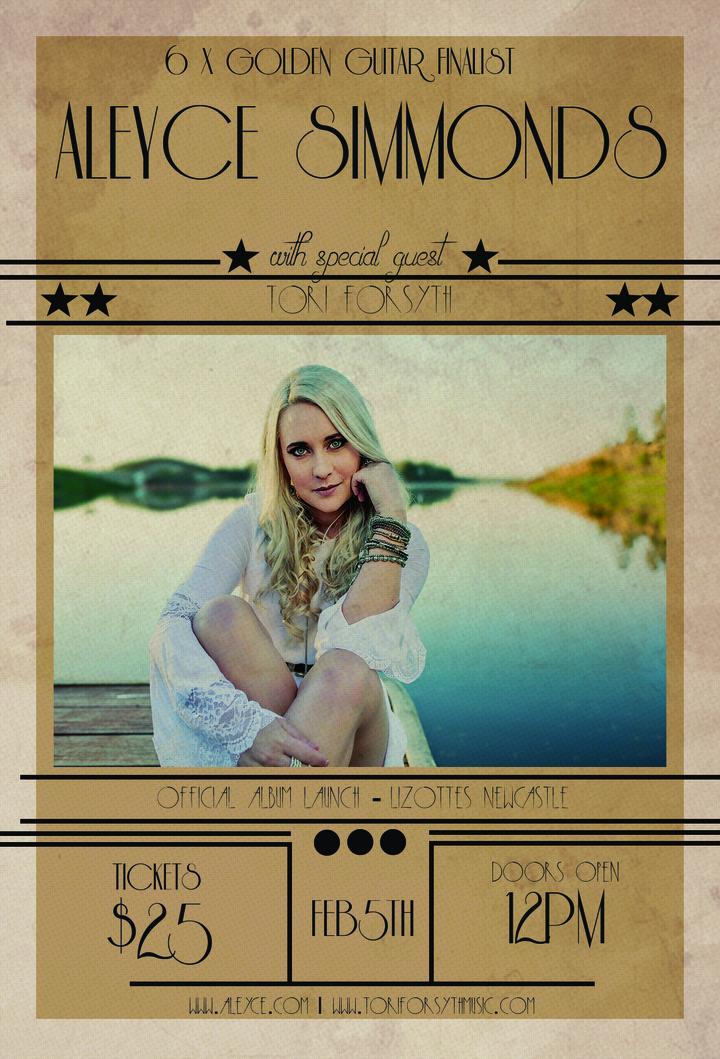 Aleyce Simmonds @ Lizottes - Lambton, Australia