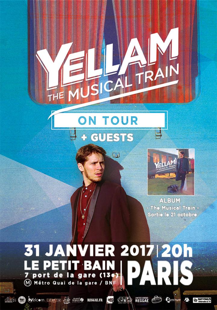 Jr Yellam Official @ Le Petit bain - Paris, France
