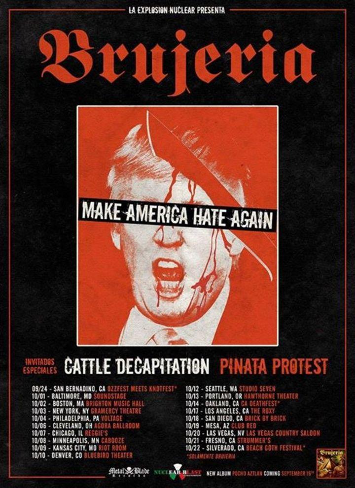 Cattle Decapitation Tour Dates