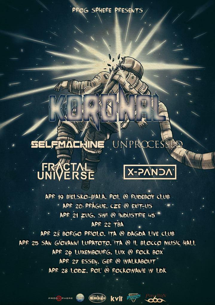 Fractal Universe @ Il Blocco Music Hall - San Giovanni Lupatoto Vr, Italy