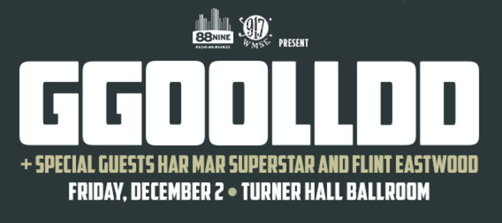 GGOOLLDD @ Turner Hall Ballroom - Milwaukee, WI