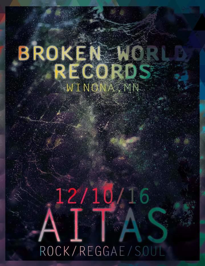 Aitas @ Broken World Records - Winona, MN
