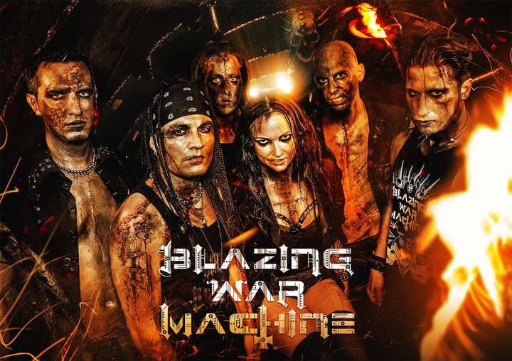 BLAZING WAR MACHINE @ No Man's Land - Volmerange-Les-Mines, France