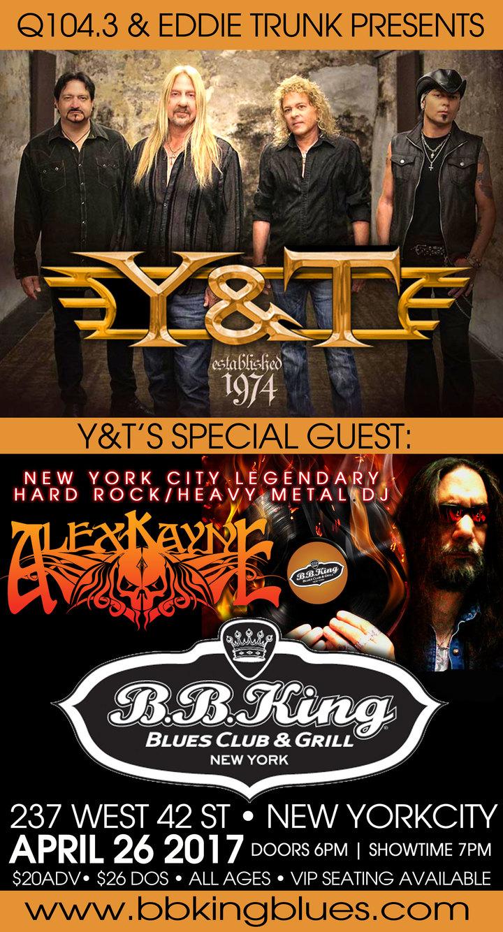 DJ Alex Kayne @ B.B. Kings Blues Club & Grill - New York, NY